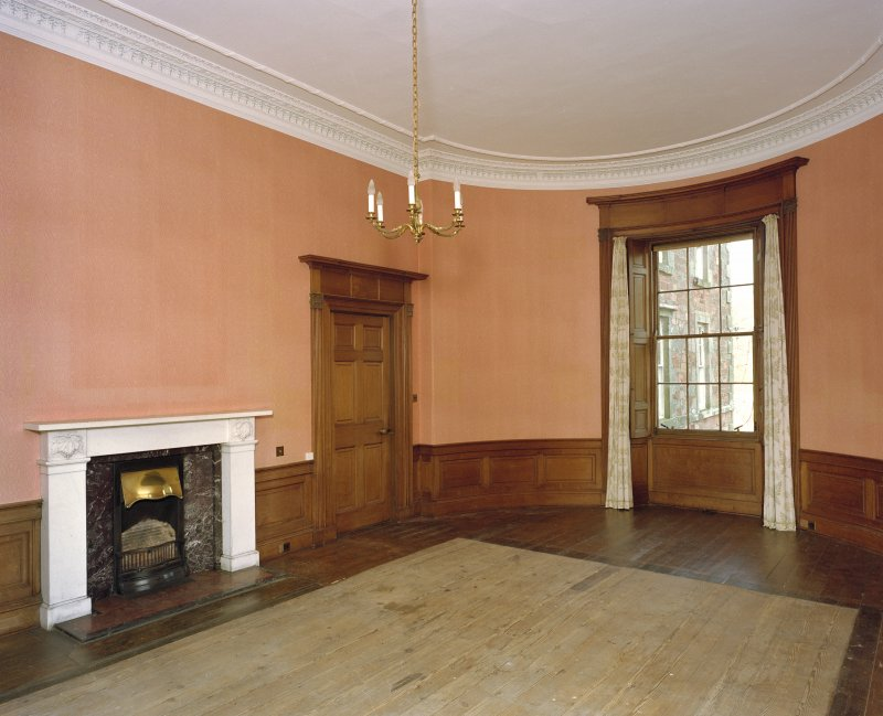 Interior. Ground floor, drawing room from SE.