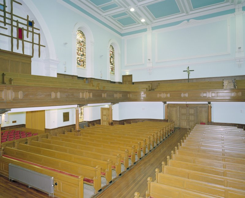 Interior of St Cuthbert's Church, Lothian Rlad, Edinburgh, view from balcony to north east