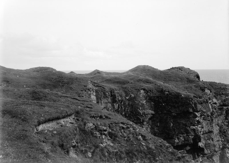 BROCH OF BURLAND (BROCH (POSSIBLE)) RCAHMS