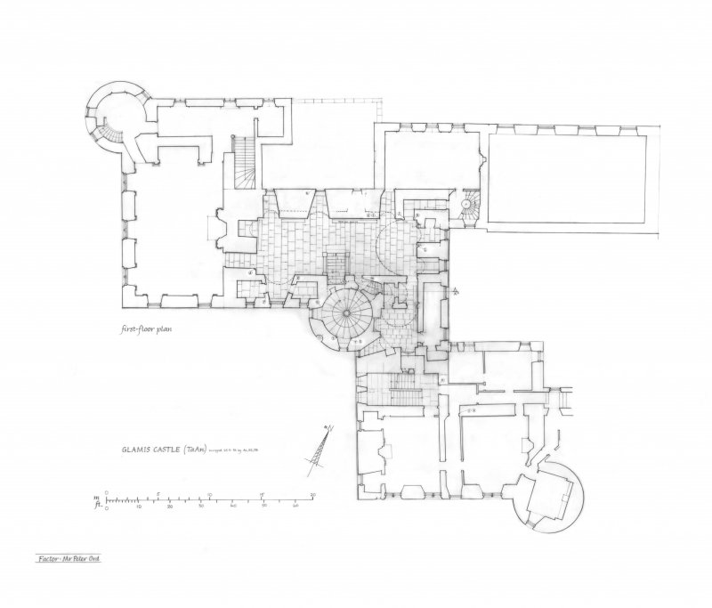 Plan of first floor.