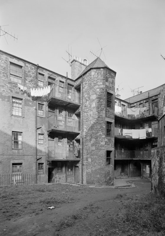 View of Robertson's Court.