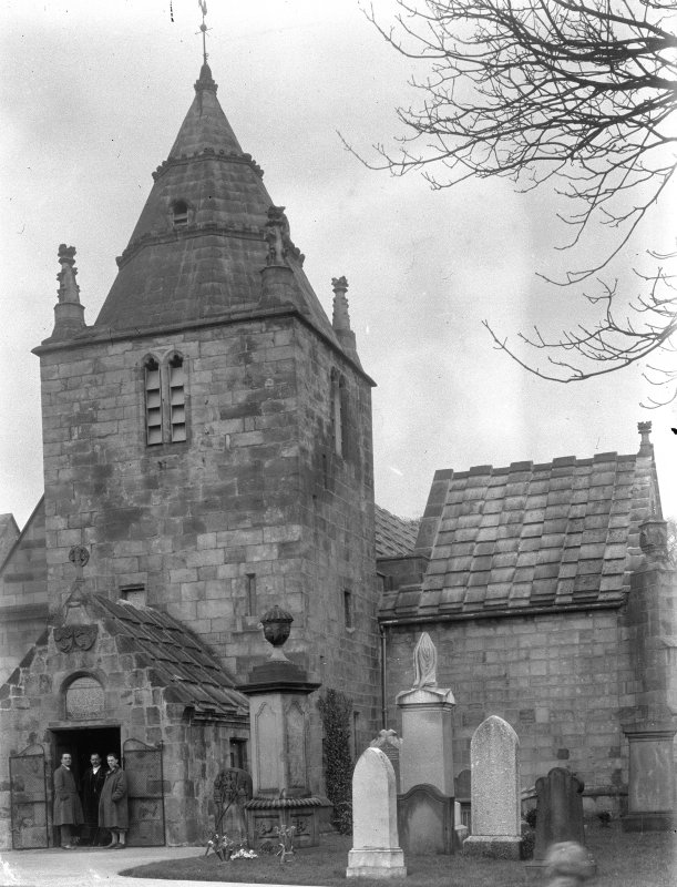 Edinburgh, Kirk Loan, Corstorphine Parish Church. General view from South-West.