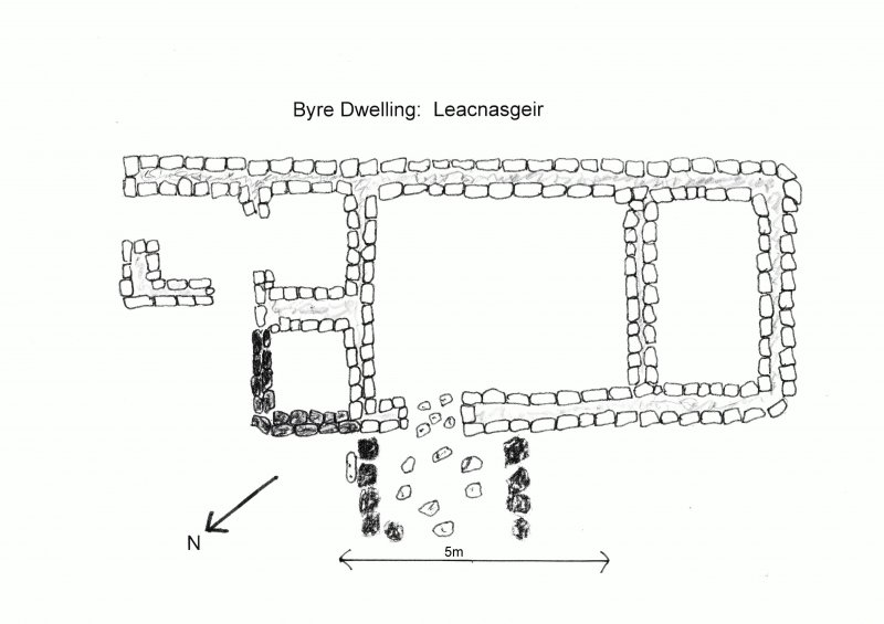 Back Settlement:   Byre Dwelling.