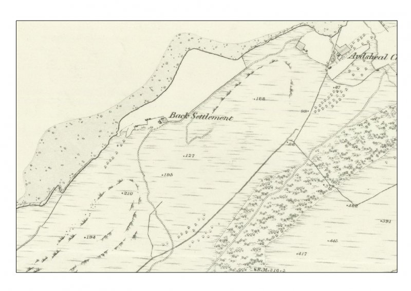 OS 6-inch maps (Argyllshire and Buteshire sheet xliii) 1875 extract