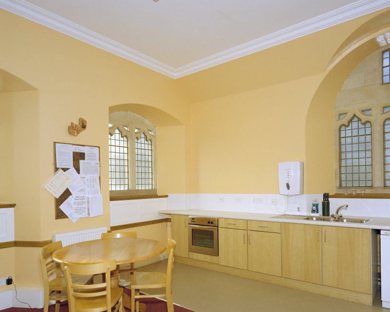 Interior, kitchen, view from north east