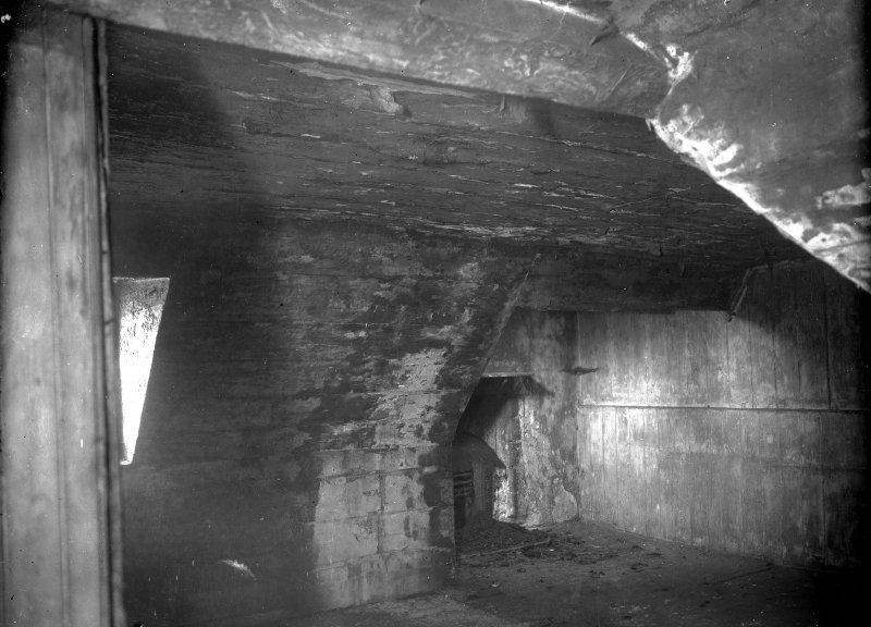 Interior-general view of attic