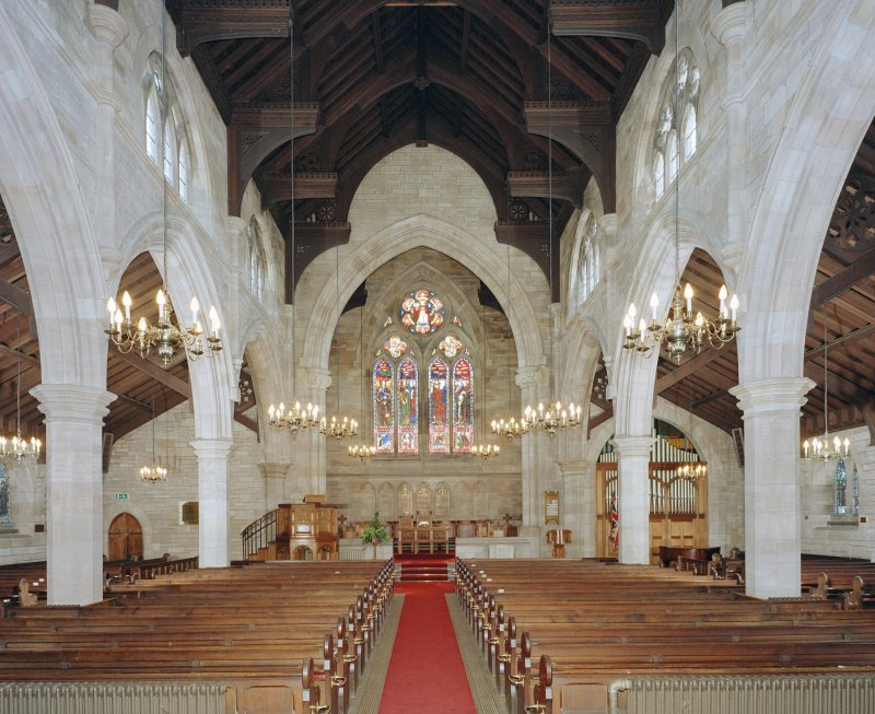 Interior.  View from north west