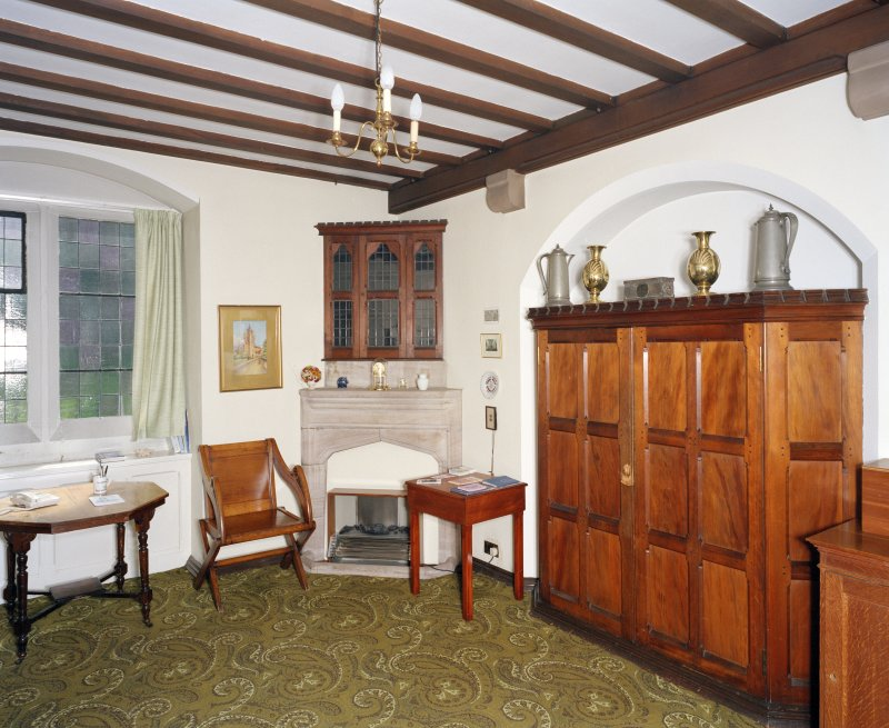 Interior.  Vestry, view from north