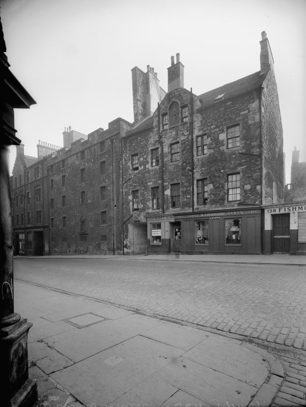 View of Wilsons Court from canongate.