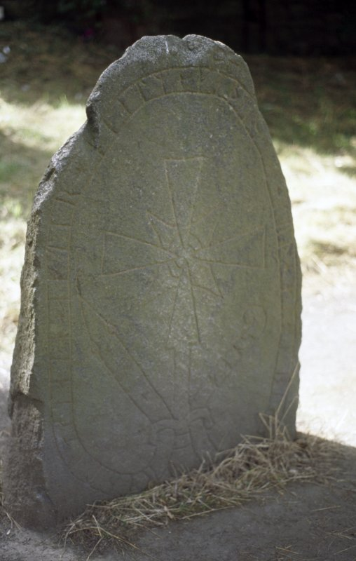 View of the Rune Stone.