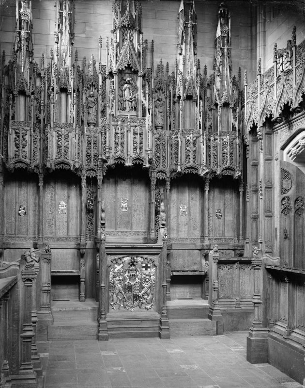 Interior-detail of Thistle Chapel