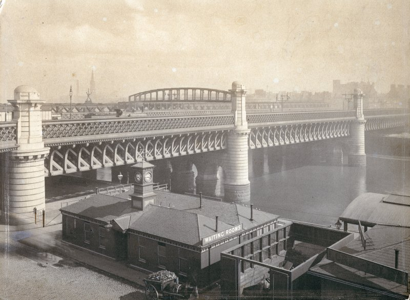 View of Central Station bridge, Glasgow