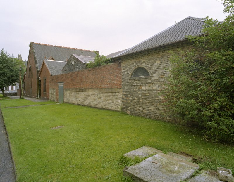 Church hall, general view from south east