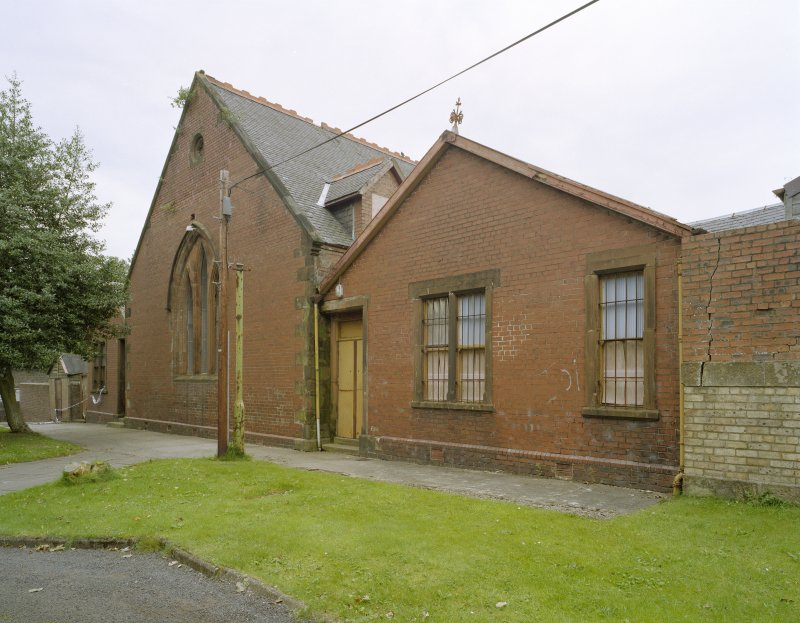 Church hall, view from south east
