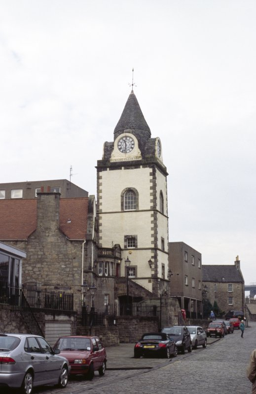 View of Tolbooth and Jubilee Clock.