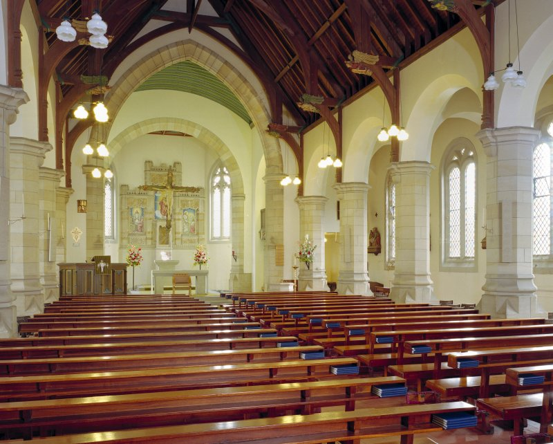 Interior view from north north west