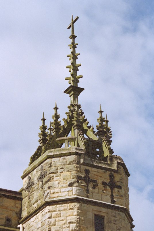 Detail of steeple