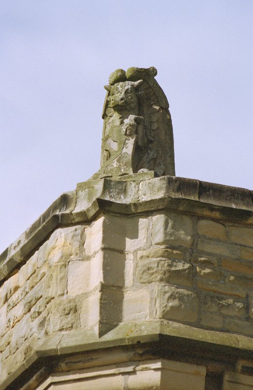Detail of stone carving