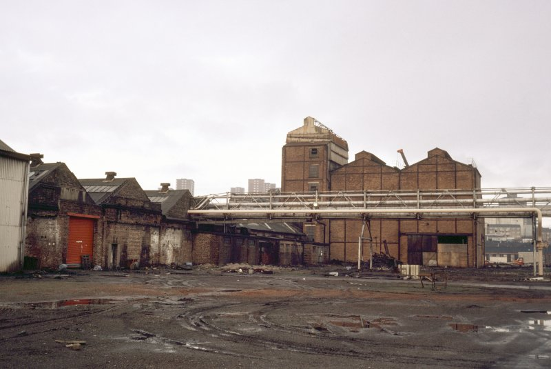 View of foundry from South.