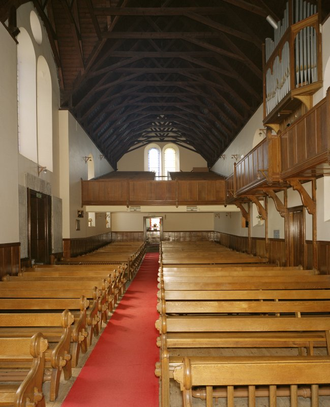 Interior. View from east