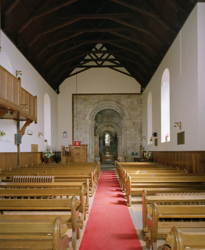 Interior. View from west