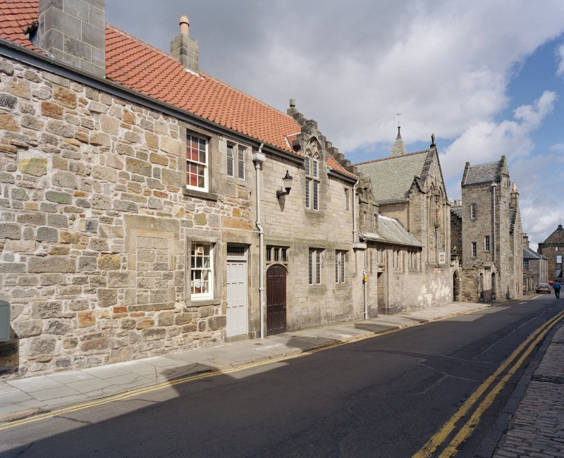 All Saints Episcopal Church.  View of church and Castlewynd house from South East.