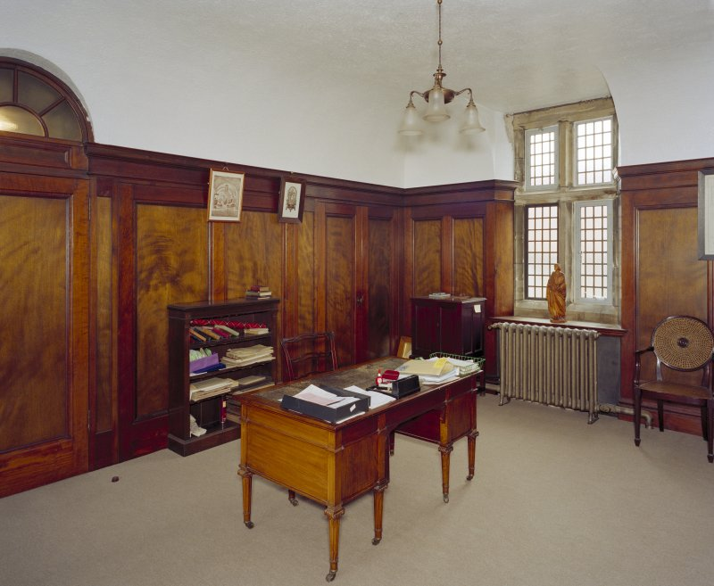 All Saints Episcopal Church, interior.   Upper vestry, view from South West.