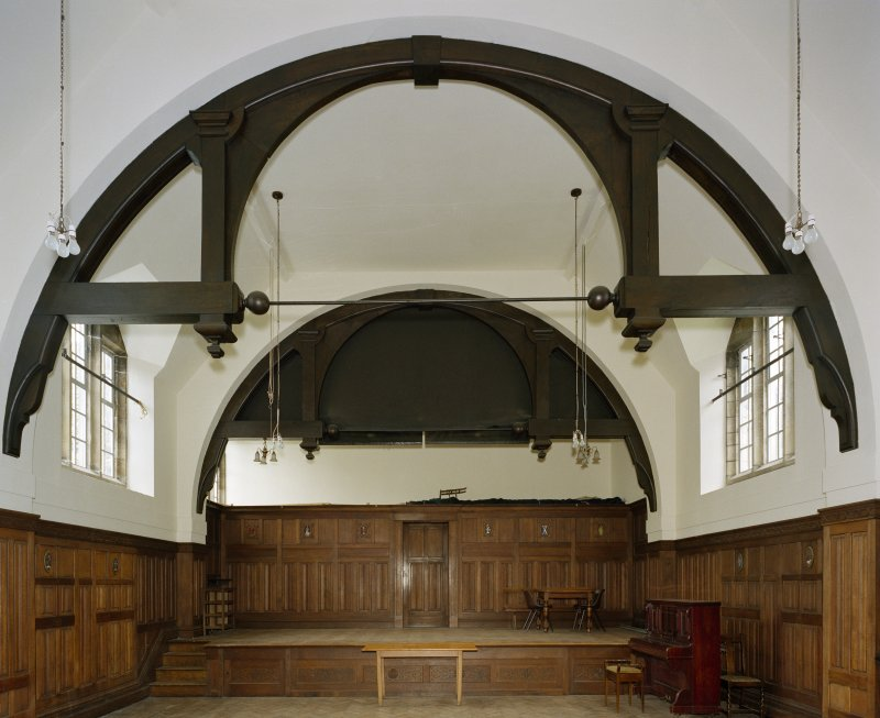 All Saints Episcopal Church, interior.   Main hall, view from North.