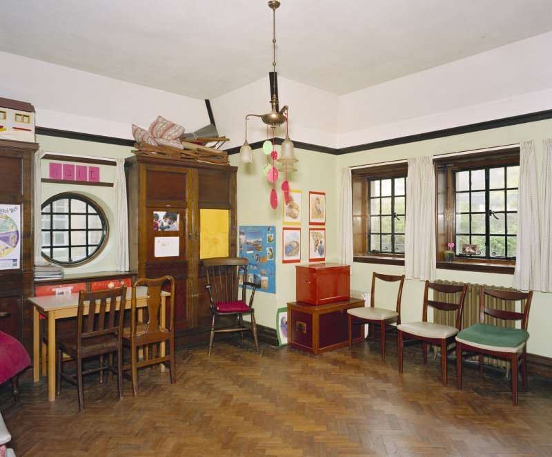 All Saints Episcopal Church, interior.  Sunday school room, view from North East.