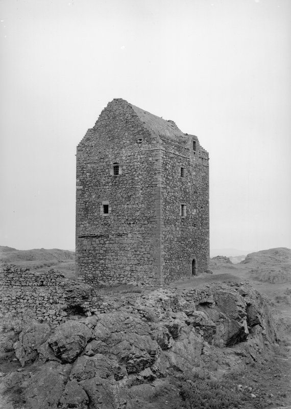 View of Smailholm Tower from SW.