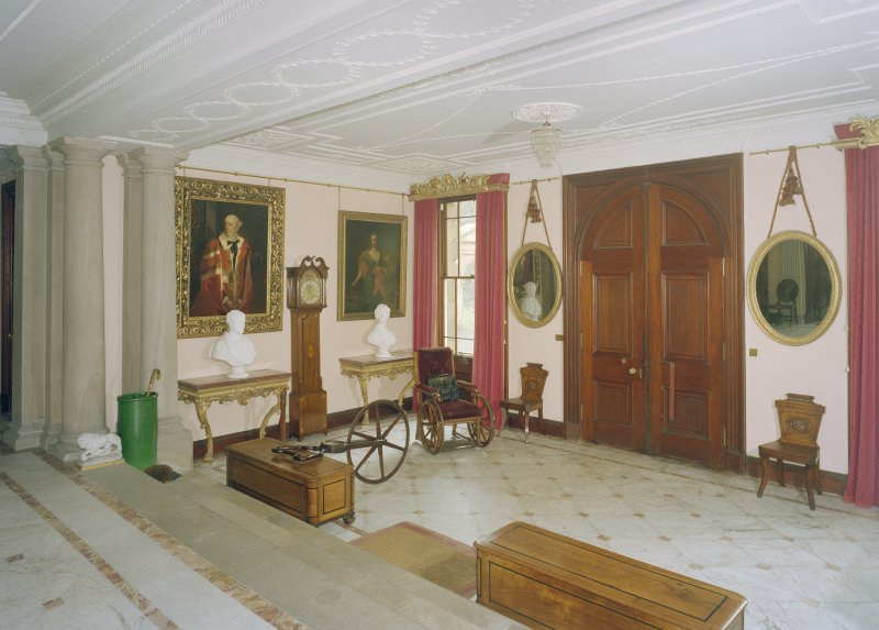 Interior.  View of entrance hall.