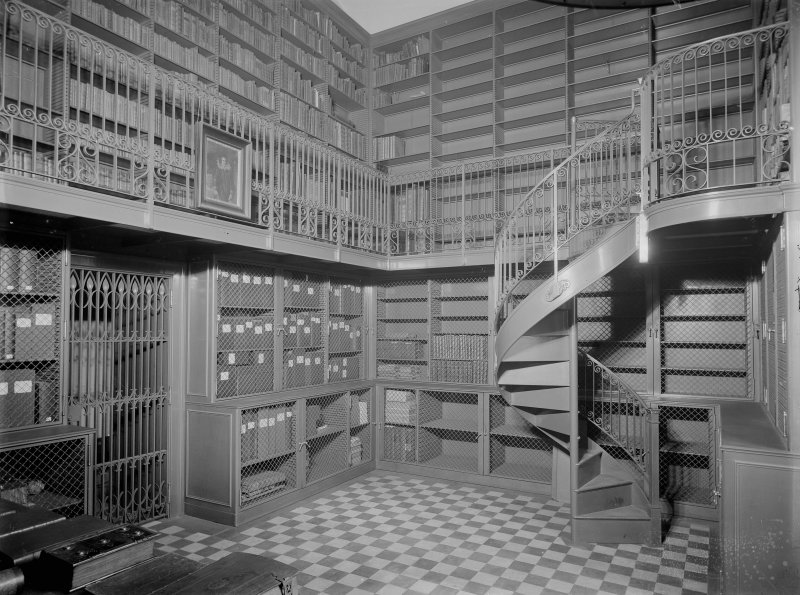 Interior-general view of  the library