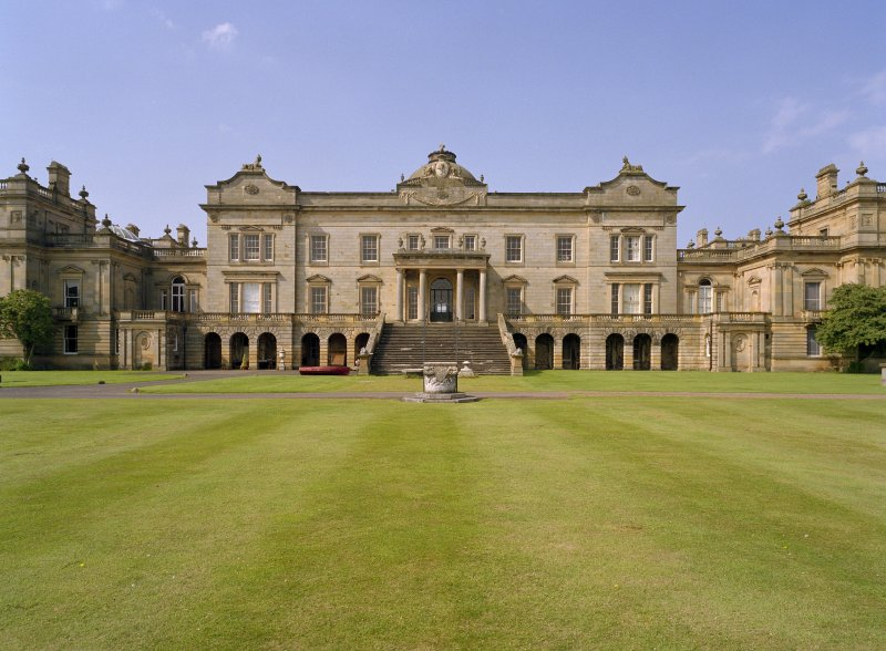 Central block, view from east Gosford House