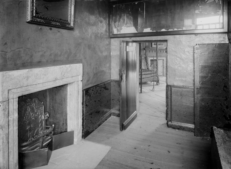 Interior-general view of Mary Queen of Scots' Bedroom Supper Room.