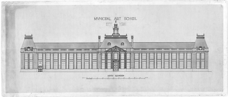 Design for South elevation.
