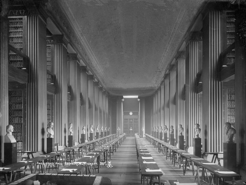 Interior-general view of Upper Library