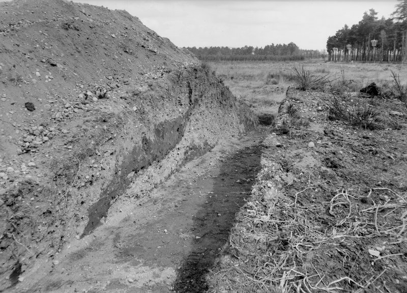 Excavation photograph (at NO 167 402),. Similar to PT/209.