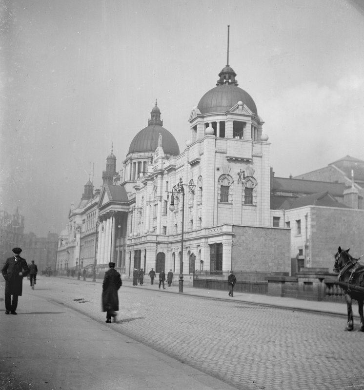 Aberdeen, Rosemount Viaduct, His Majesty's Theatre. General view from E-S-E.