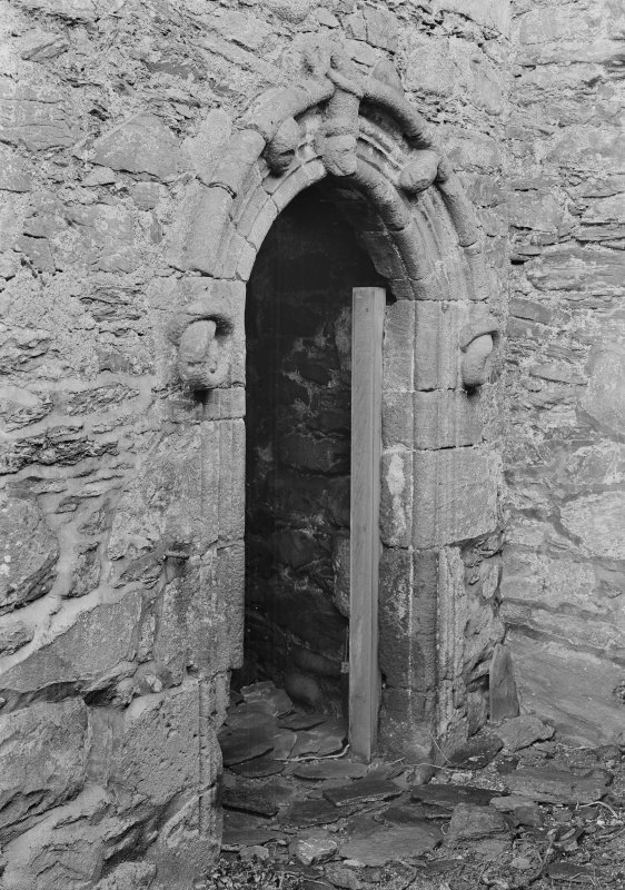 View of arched doorway