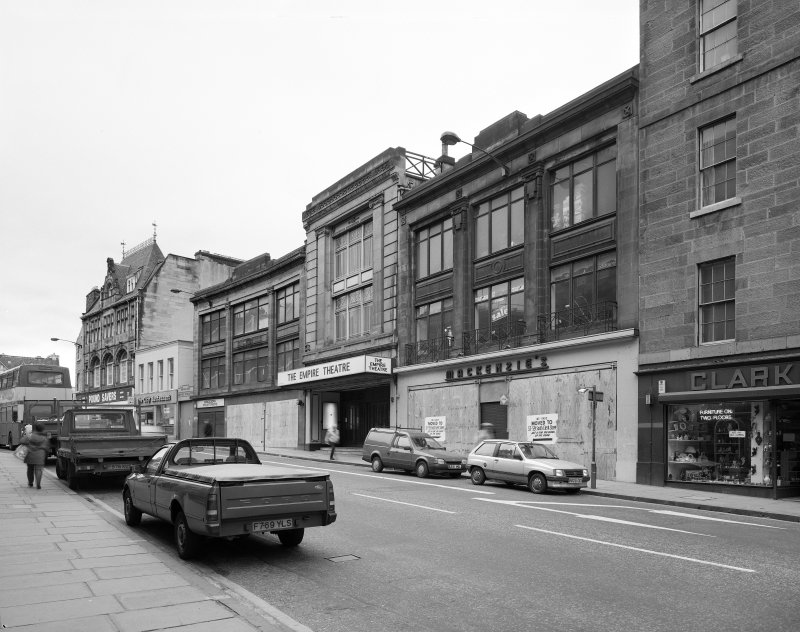 View of exterior of the Empire Theatre, 13-27 Nicolson Street, Edinburgh from North East. Now the Festival Theatre.
