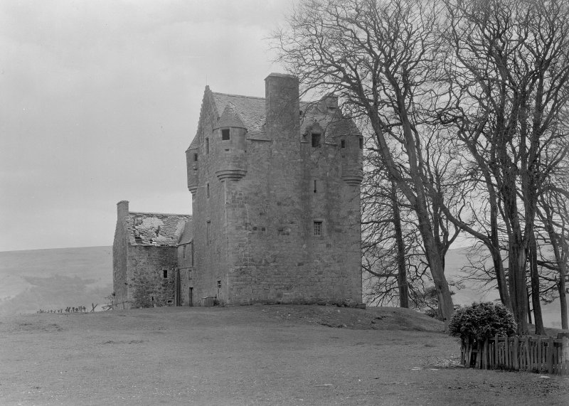 View of Aldie Castle from North-East.