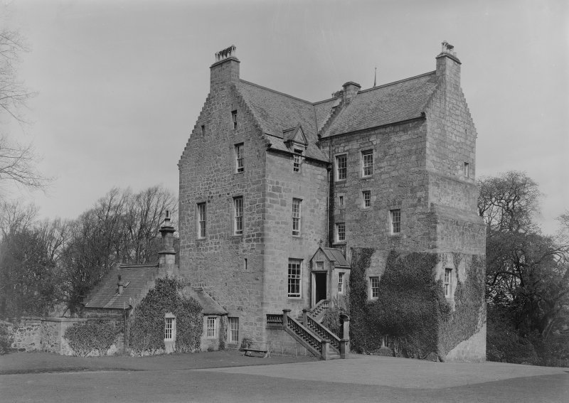 General view of Cleish Castle.