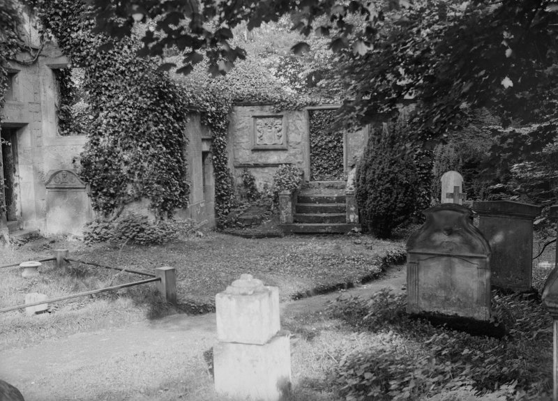 View of Woodhouselee aisle from W.