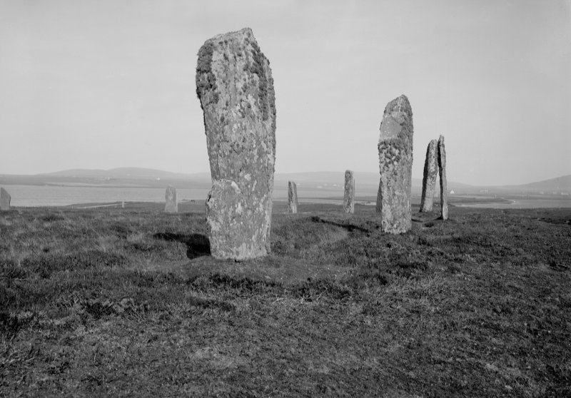 View from West of the Ring of Brodgar, Orkney