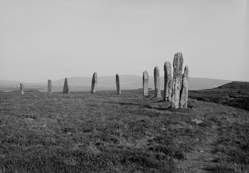 View of Ring of Brodgar stone circle.