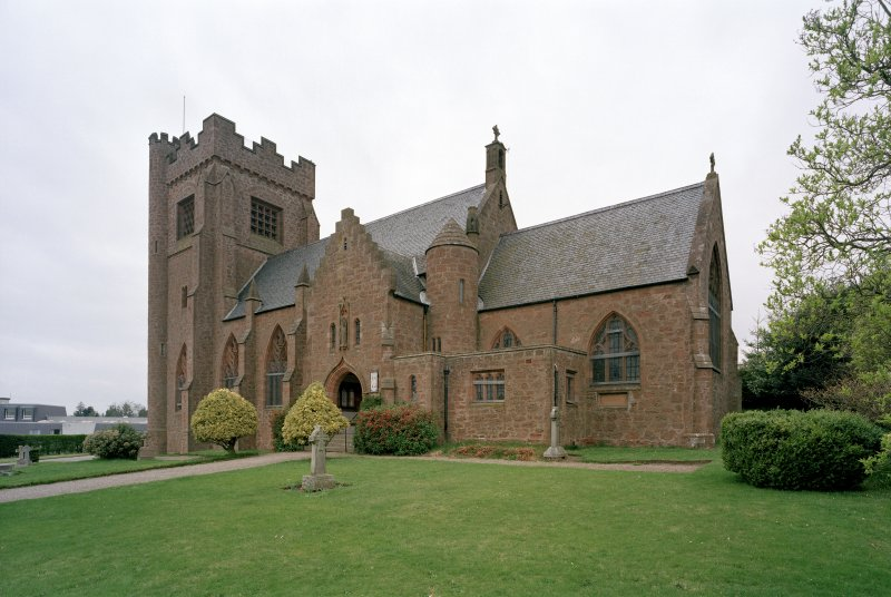 General view of St Mary's Episcopal Church, Kirriemuir, from SE.