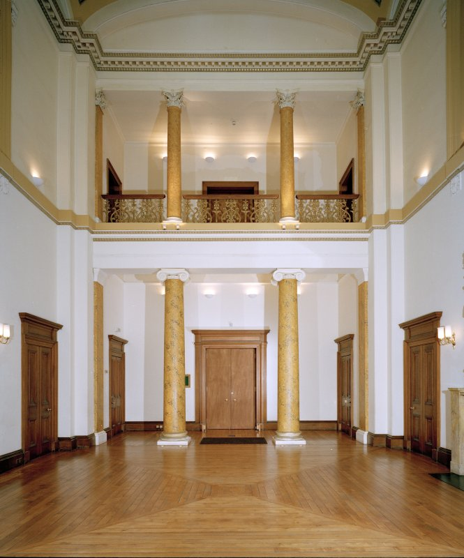 Dundee, Camperdown House, Interior View from East, Ground Floor, Main Hall