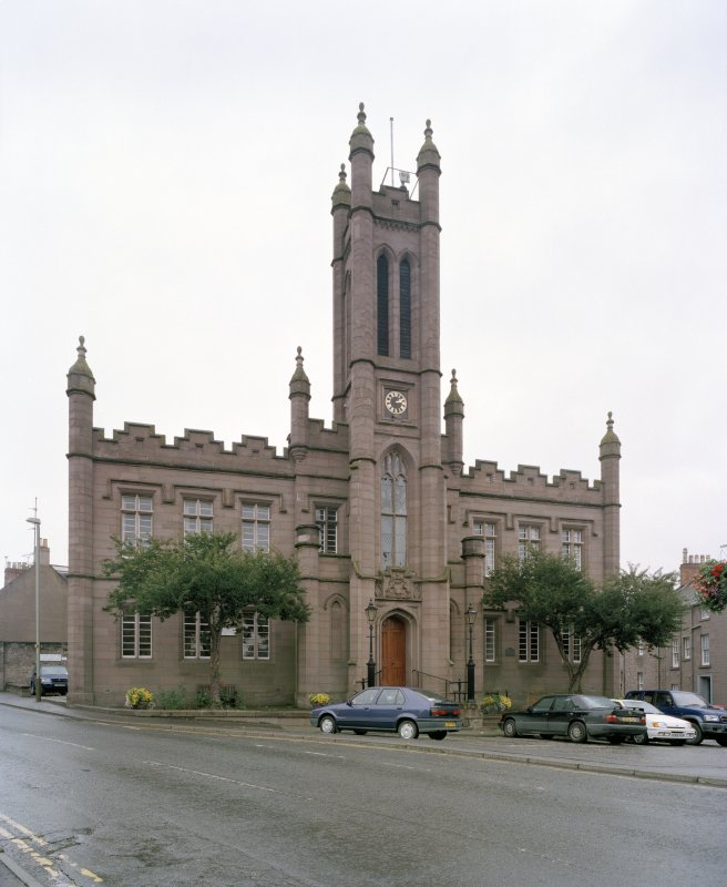 View of Mechanics Institute, Brechin,  from WNW