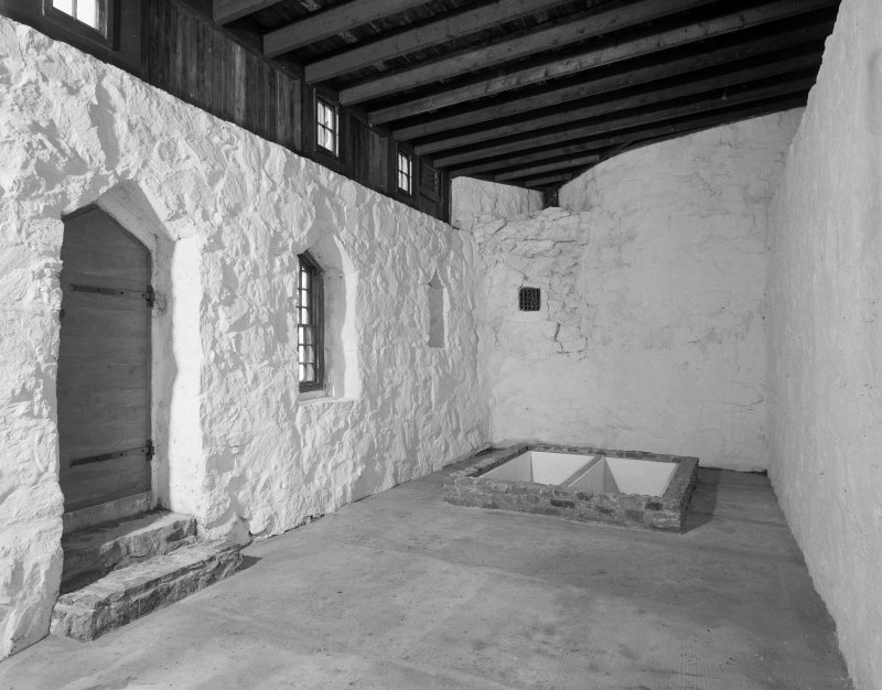 Interior. View of chapel from E.