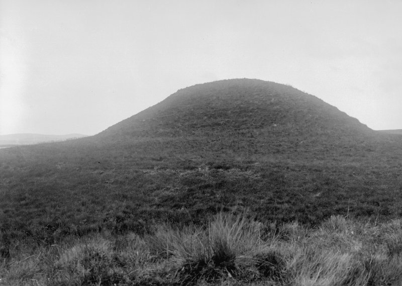 General view of cairn from south.
